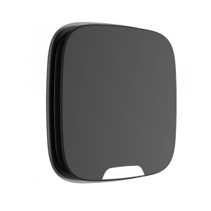 Wireless Street Siren DoubleDeck Outdoor Siren With a spot for customizable brand plate (Black)
